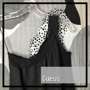 GUESS • One Shouldered Top